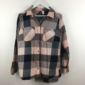 4/$25 Divided Button Down Blouse